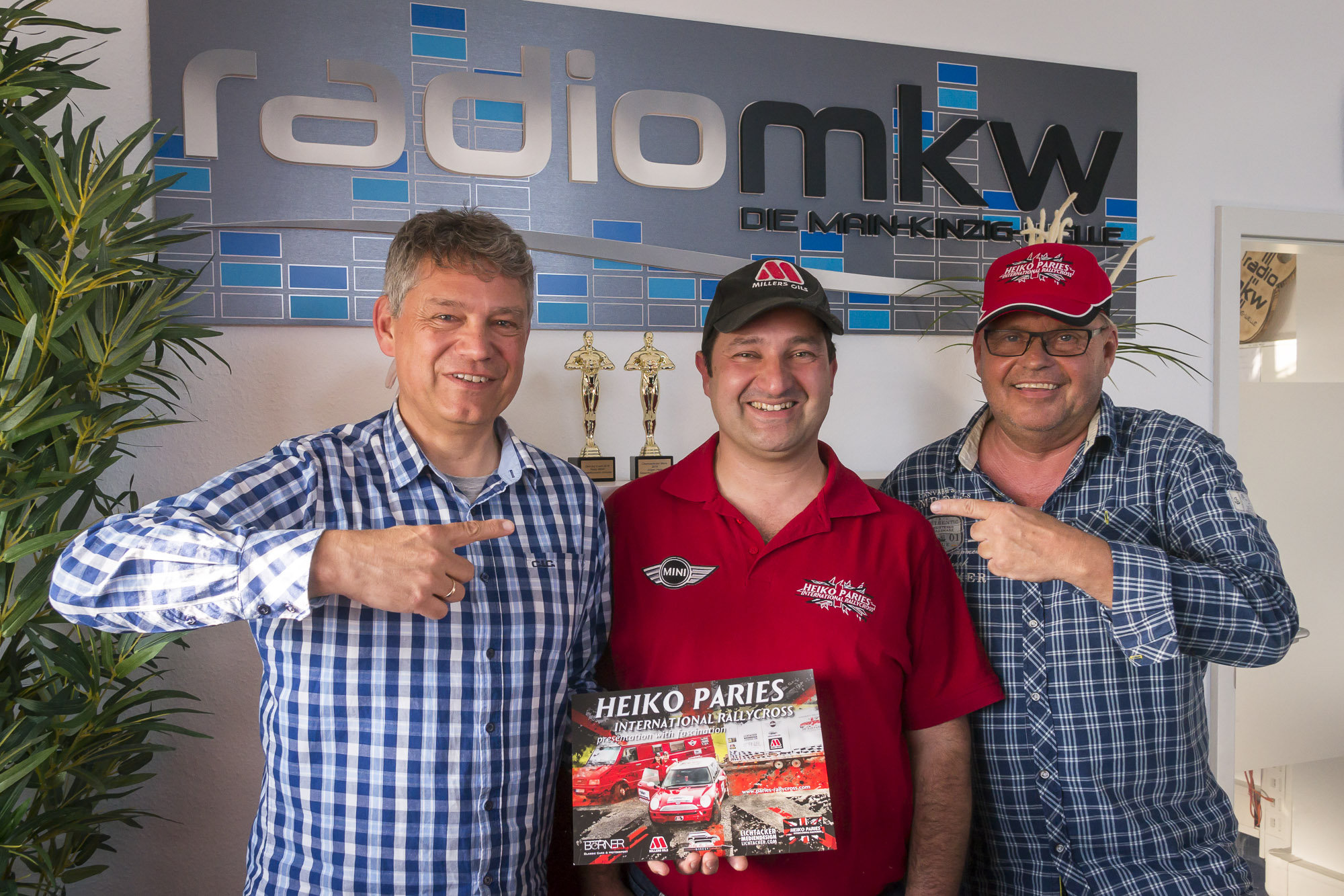 Paries Rallycross goes Radio! We proudly present our new Team Media Partner Radio MKW!